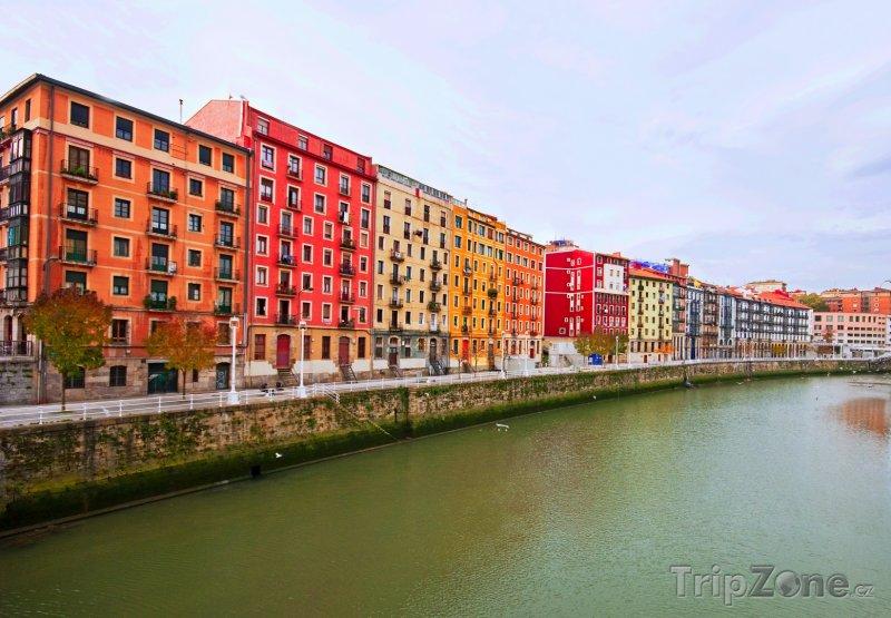 Fotka, Foto Nábřeží v Bilbau (Španělsko)