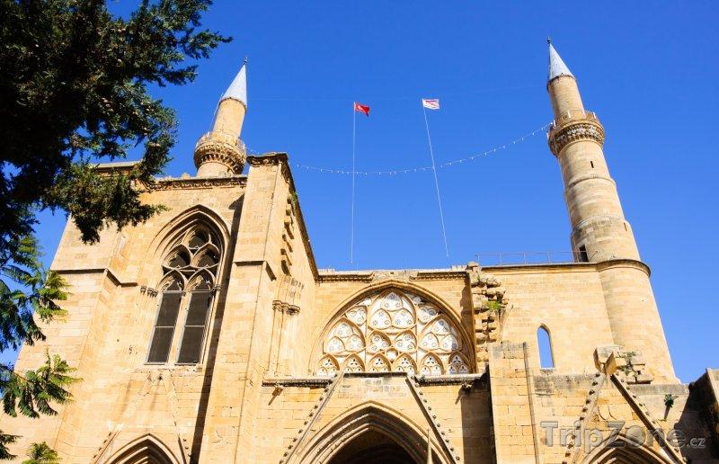 Fotka, Foto Nikósie, mešita Selimiye (Kypr)