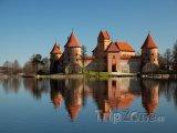 Ostrovní hrad Trakai (Troky)