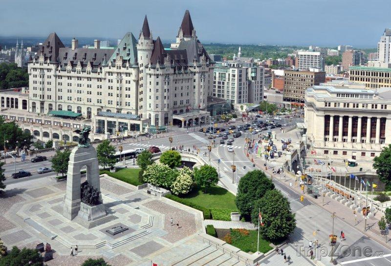 Fotka, Foto Ottawa - centrum města (Kanada)