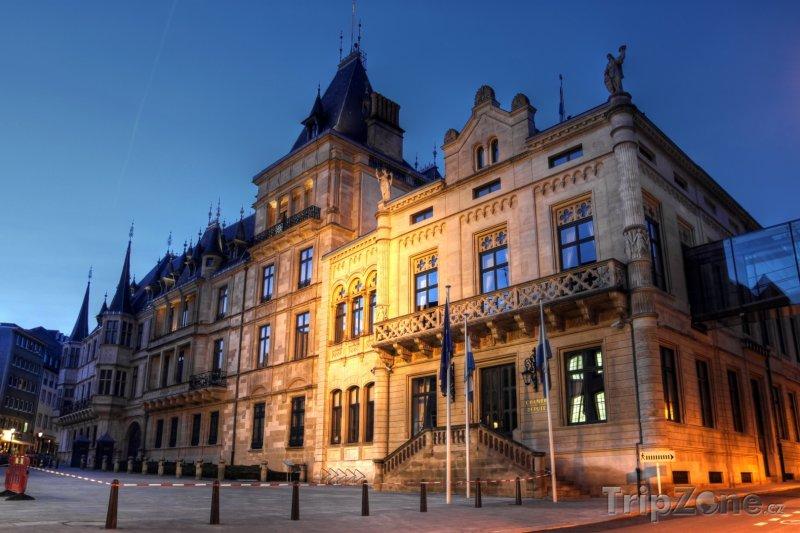 Fotka, Foto Palác Grand Ducal v Lucemburku (Lucembursko)