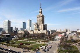 Palác kultury ve Varšavě