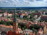 Panorama Gdaňsku