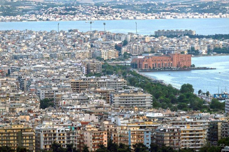 Fotka, Foto Panoráma města (Soluň, Řecko)