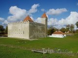 Pevnost Kuressaare na ostrově Saaremaa