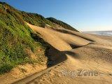 Písečná duna v národním parku Sodwana Bay