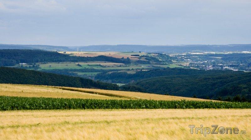 Fotka, Foto Pohled na letní krajinu (Lucembursko)