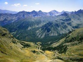 Pohled na Savojské Alpy