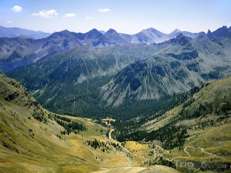 Fotka, Foto Pohled na Savojské Alpy (Francouzské Alpy, Francie)