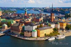 Pohled na Stockholm