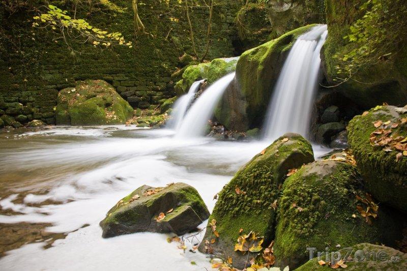 Fotka, Foto Potok u vesničky Mullerthal (Lucembursko)