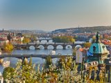 Praha, mosty přes Vltavu