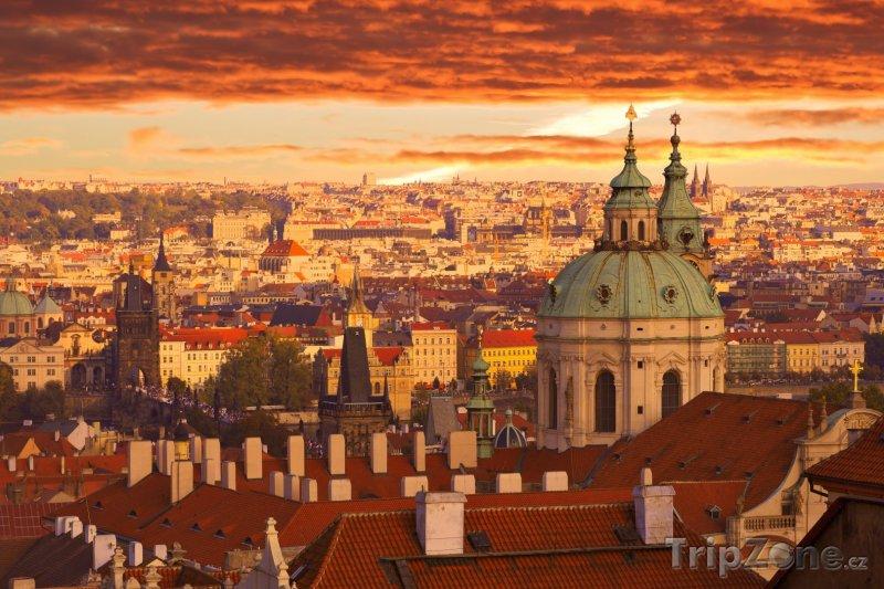 Fotka, Foto Praha, panoráma města (Česká republika)