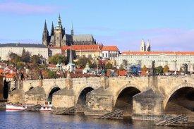 Praha, Pražský hrad a Karlův most