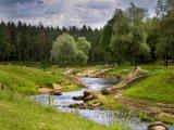 Přírodní park ve městě Valmiera