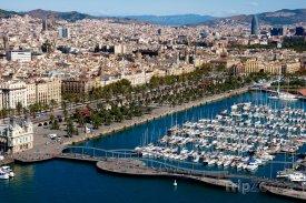 Přístav v Barceloně