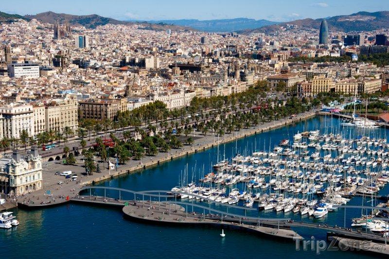 Fotka, Foto Přístav v Barceloně (Barcelona, Španělsko)