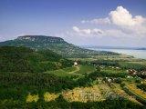 Půvabná krajina u Balatonu