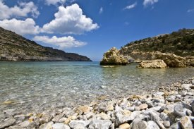 Rhodos, pláž Anthony Quinn