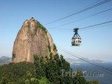 Rio de Janeiro, lanovka na vrch Pão de Açúcar