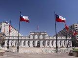 Santiago, Palacio de La Moneda - sídlo prezidenta