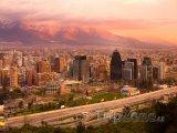 Santiago, panoráma města