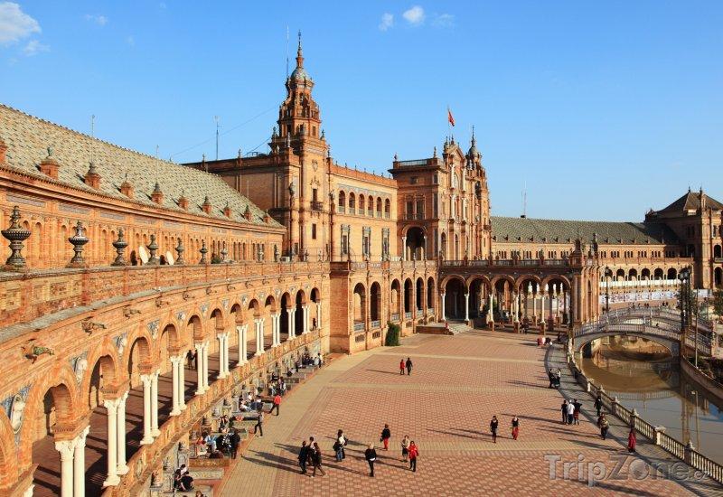 Fotka, Foto Sevilla - Plaza de Espana (Španělsko)
