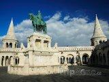 Socha sv. Štěpána v Budapešti