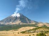 Sopka Popocatepetl, aktivní