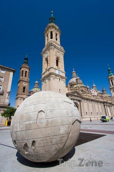 Fotka, Foto Square of the Pilar - Zaragoza (Španělsko)