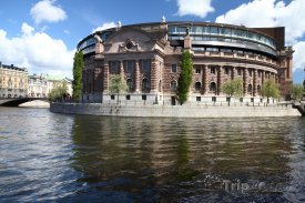 Stockholm - parlament Riksdag