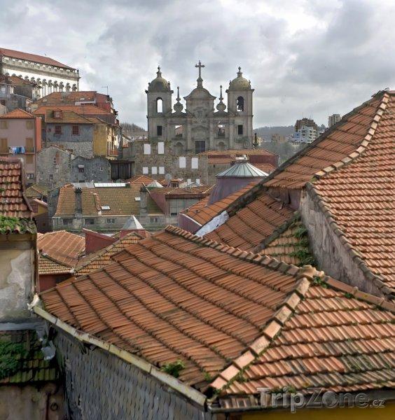 Fotka, Foto Střechy v historické části Porta (Portugalsko)