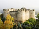 Středověká pevnost ve městě Soroca