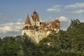 Středověký hrad Bran - sídlo hraběte Drákuly