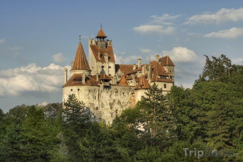 Fotka, Foto Středověký hrad Bran - sídlo hraběte Drákuly (Rumunsko)