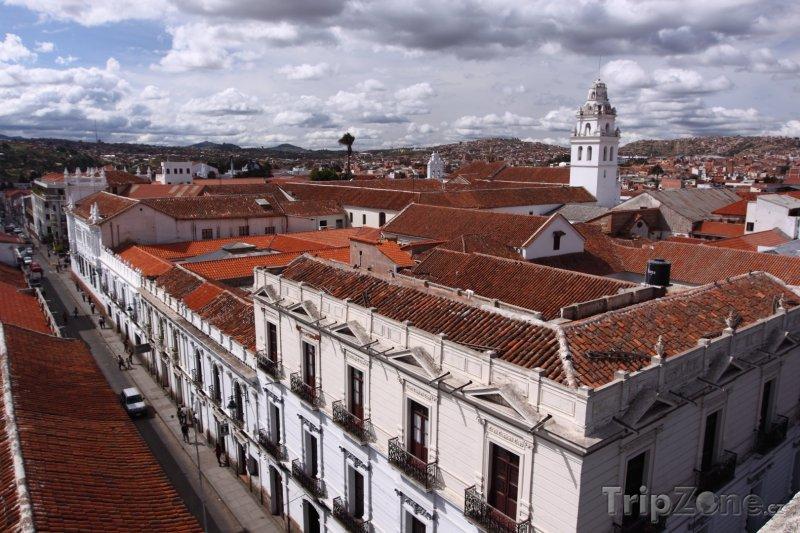 Fotka, Foto Sucre, pohled na město (Bolívie)