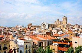 Tarragona - panoráma města, katedrála