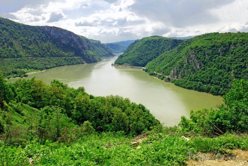 Fotka, Foto Tok Dunaje na hranicích se Srbskem (Rumunsko)