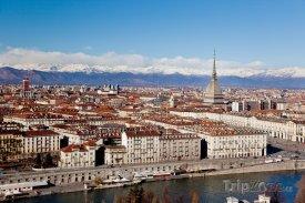 Turín, panoráma města