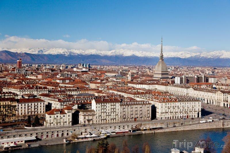 Fotka, Foto Turín, panoráma města (Itálie)