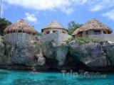 Ubytování na skalním útesu, Negril