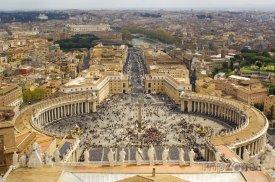 Vatikán - Náměstí svatého Petra