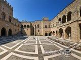 Velmistrův palác ve městě Rhodos