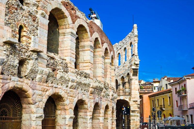 Fotka, Foto Verona, Arena di Verona (Itálie)