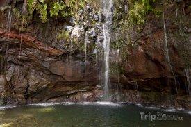 Vodopád na ostrově Madeira