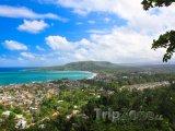 Výhled na město Baracoa v provincii Guantánamo