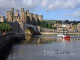 Wales - hrad Conwy