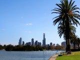 Albert Park poblíž Melbourne