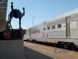 Alice Springs - vlakové nádraží