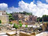 Antické ruiny Forum Romanum